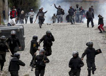 La violencia sobrecoge a Bolivia