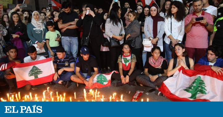 Las protestas en el Líbano se cobran su primera víctima mortal - EL PAIS