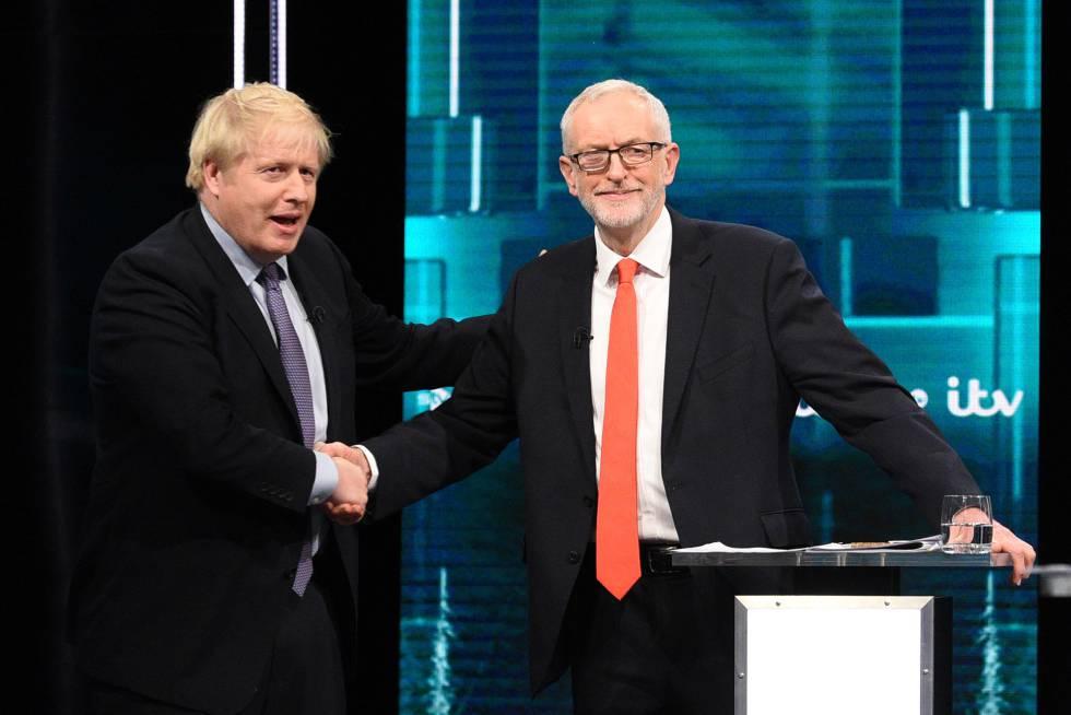 Johnson y Corbyn se enfrentan por la sanidad pública y el futuro de Escocia