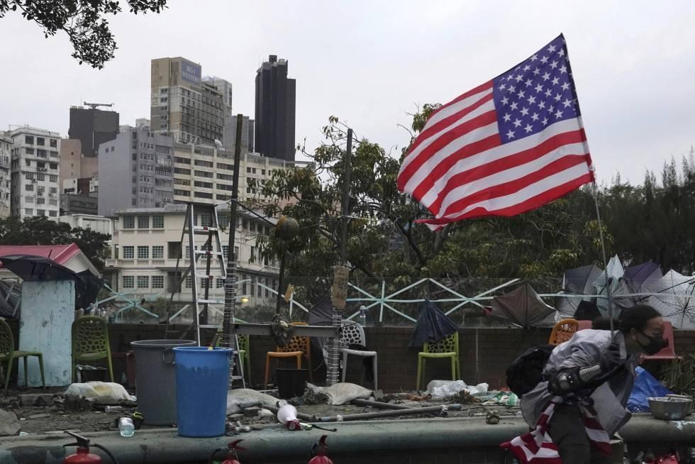 El Senado de Estados Unidos aprueba un proyecto de ley en favor de los activistas de Hong Kong
