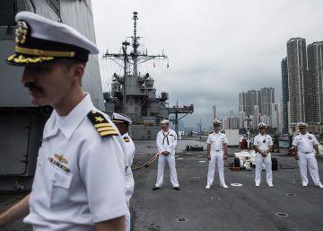 China prohíbe a buques militares de EEUU atracar en Hong Kong