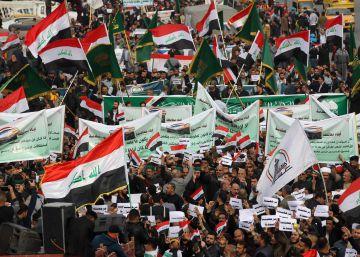 Un ataque armado deja al menos 23 manifestantes muertos en Bagdad