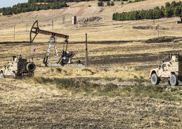 Petróleo por territorios en Siria