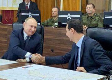 Putin exhibe su influencia con un viaje a Damasco en plena escalada de tensión en Oriente Próximo