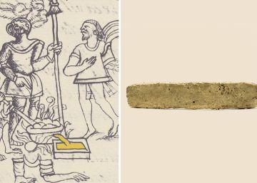 Un tejo de oro, el testimonio único de la huida de Cortés de Tenochtitlan