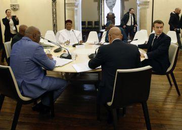 Francia y los líderes del G5 del Sahel cierran filas para frenar el yihadismo