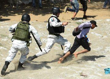La política migratoria en México: de la pulsera humanitaria a las cargas de la Guardia Nacional