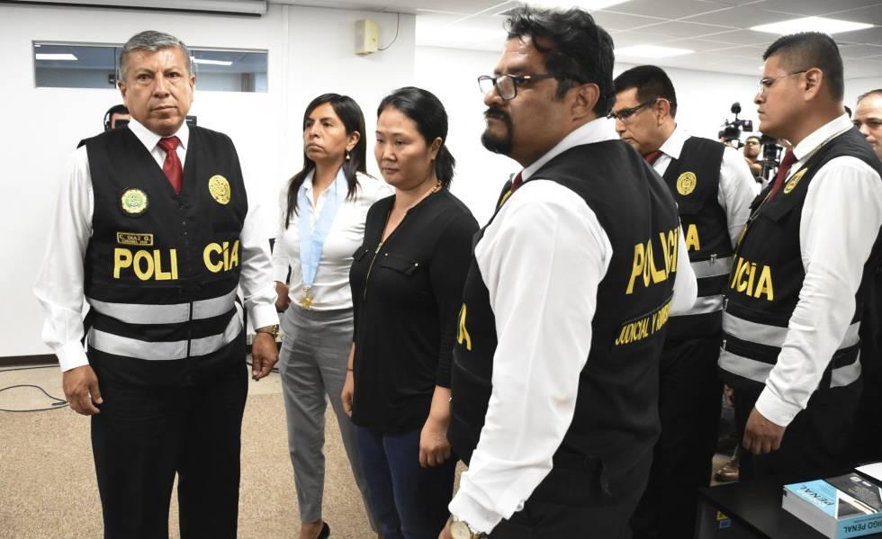 Keiko Fujimori vuelve a prisión por un año y tres meses ante el temor de la Justicia a que se fugue