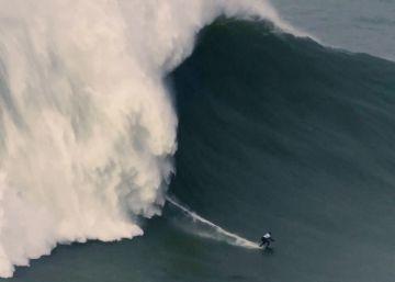 Surfear una ola de más de 22 metros: Maya Gabeira bate su récord mundial