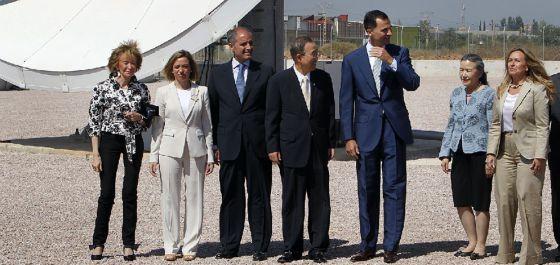 España cede a la ONU la base logística de Quart de Poblet en ...