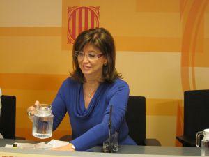 La consejera de Educación de la Generalitat, Irene Rigau. / EUROPA PRESS
