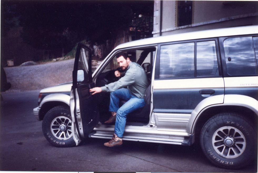 El contrabandista Marcial Dorado, en 1996.