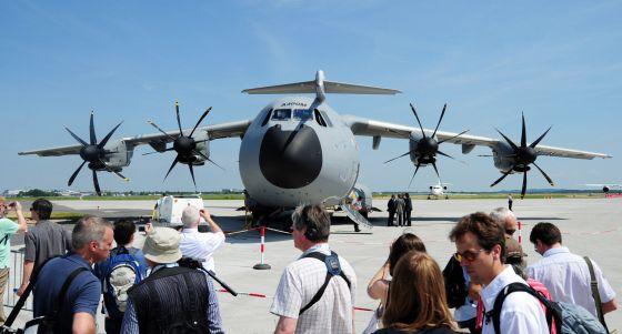 SEVILLE AIR CRASH: Five countries using A400M aircraft