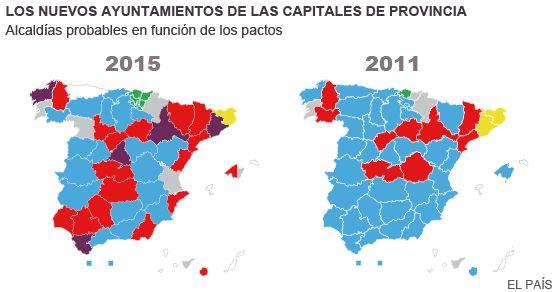 As quedan las 10 ciudades ms pobladas  Espaa  EL PAS