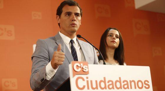 Rivera y Arrimadas