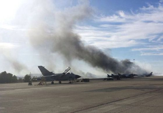 F-16 crash in Spain: Loose papers in cockpit likely cause of F-16