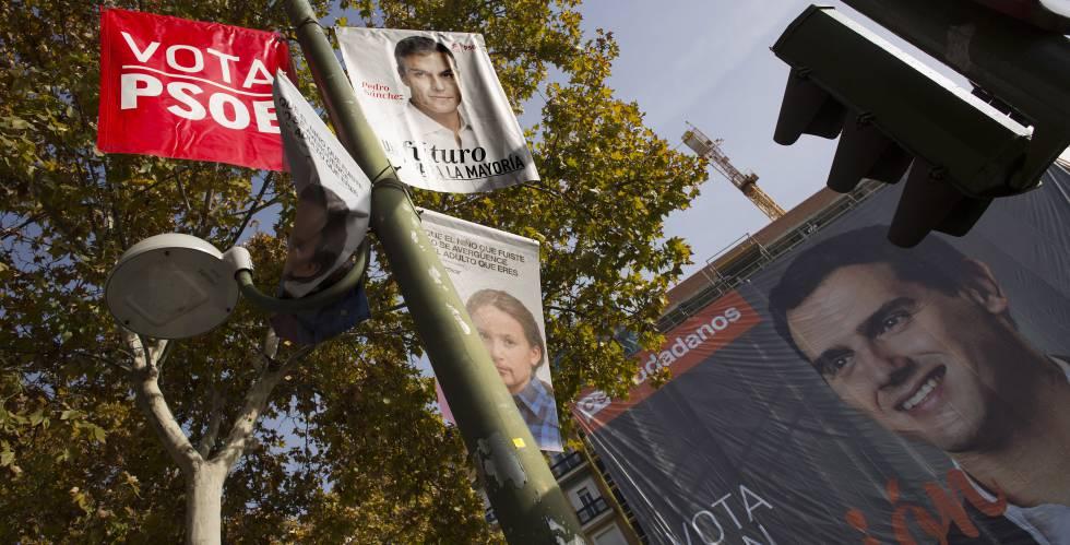 dc7b9040d Elecciones generales 2016  Inicio de la campaña electoral del 26-J ...