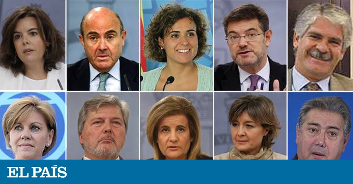 Nuevos ministros este es el nuevo gobierno de mariano for Ministros de espana
