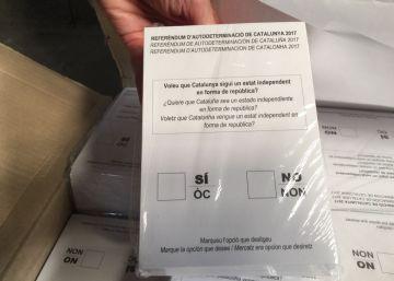 El Mercedes que llevó las papeletas del referéndum