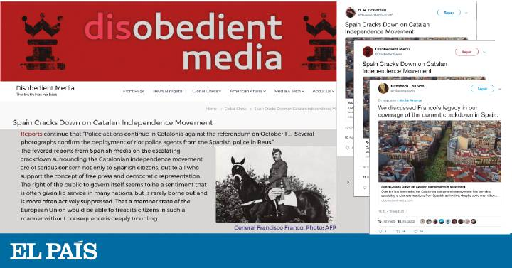 The machinery of Russian interference penetrates the Catalan crisis