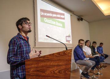 Podemos Euskadi defiende aplicar el método quebequés y aspira a la ?cosoberanía?