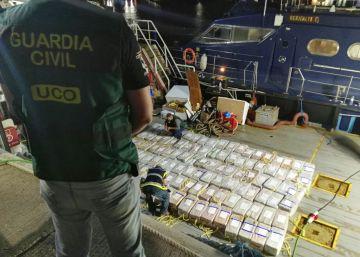 Aprehendido el mayor alijo de cocaína del año bajo la cocina de un barco