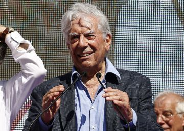 El discurso íntegro de Mario Vargas Llosa en la marcha de Barcelona a favor de la unidad de España