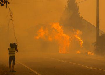 Prisión para el ecologista detenido por provocar un incendio en Ourense