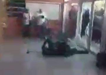 Un detenido por herir a un guardia civil con una silla en Girona el 1 de octubre