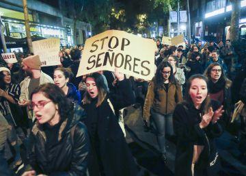 Manifestaciones en varias ciudades de España para apoyar a la víctima de La Manada