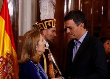 Sánchez y Díaz discrepan sobre el consenso para abrir la reforma de la Constitución