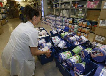 Retirados del mercado 30 lotes de leche infantil tras los casos de salmonella en Francia