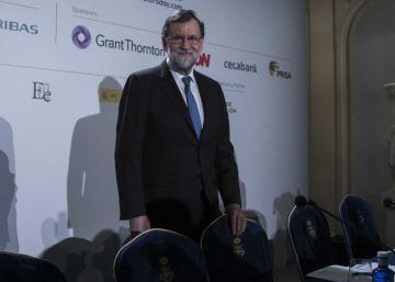 Rajoy pide combatir el populismo y el secesionismo en España y en Europa