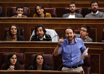 El Constitucional admite el recurso de Unidos Podemos contra la aplicación del 155 en Cataluña