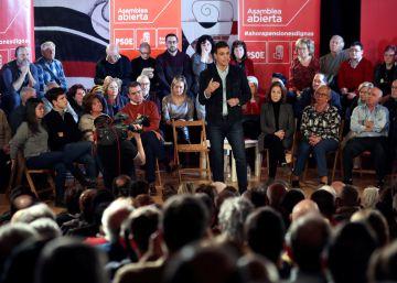 Sánchez recupera el discurso contra las élites y los medios