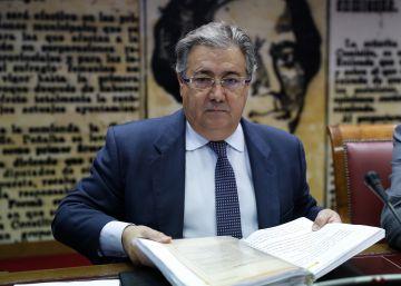 Zoido desvela que el despliegue de Cataluña el 1 de octubre costó 87 millones