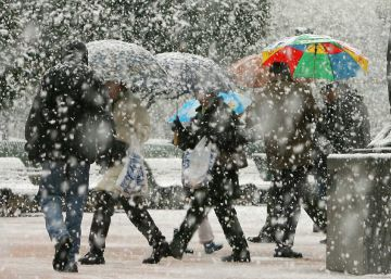 Vuelve el invierno con frío y copiosas nevadas en el norte y el este