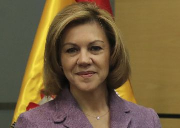 Cospedal acusa a Ciudadanos de ?deslealtad sin límites? por dudar de la acción del Gobierno en Cataluña