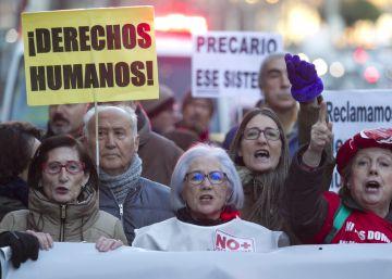 Las marchas contra la precariedad salen a la calle en el aniversario de la reforma laboral