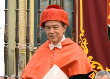 Gregorio Marañón recibe el Honoris Causa con un discurso para salvar el tesoro arqueológico de Toledo