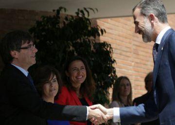 Puigdemont dice que el Rey ?será bienvenido en la República de Cataluña cuando pida perdón?