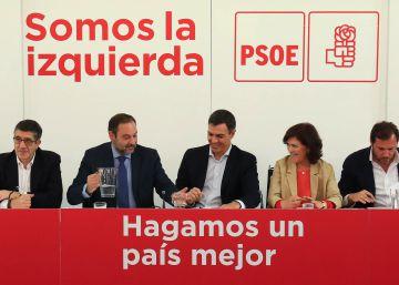 El PSOE endurece la crítica al secesionismo con el aval del PSC