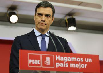 Sánchez propone un Gobierno transitorio para convocar elecciones pero no aclara cuándo