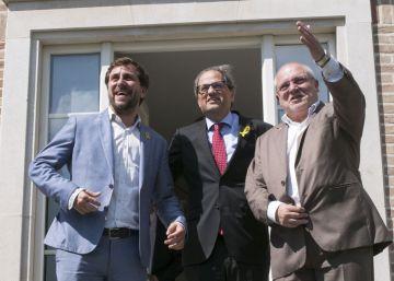 Torra no cierra la puerta a apoyar la moción de censura del PSOE contra Rajoy