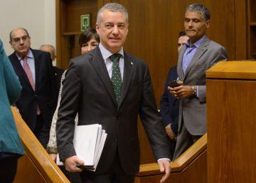 El Parlamento vasco destituye a su jefe de seguridad por un posible uso irregular de fondos públicos