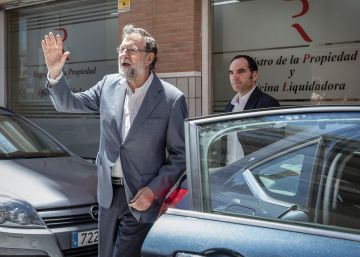 El BOE publica el traslado de Rajoy de Santa Pola a un registro de Madrid