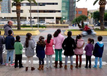 Melilla, niños solos y sin derecho a la escuela