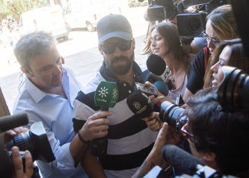 El guardia civil de La Manada declara para evitar su reingreso en prisión