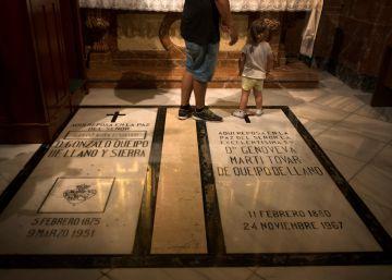 La basílica de la Macarena acepta retirar los restos de Queipo de Llano