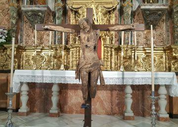 El misterio del Cristo emparedado